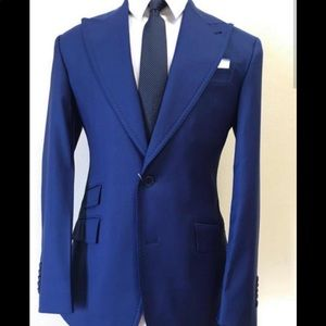 Other - Super 150 Cerruti 1881 cobalt blue wool suit